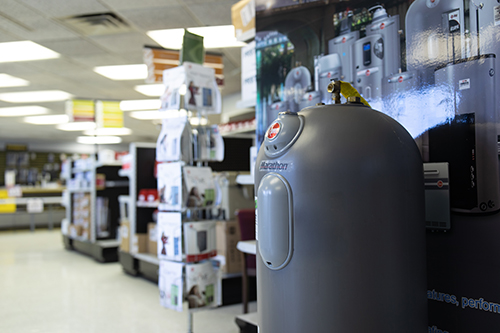 Our water heater installation products