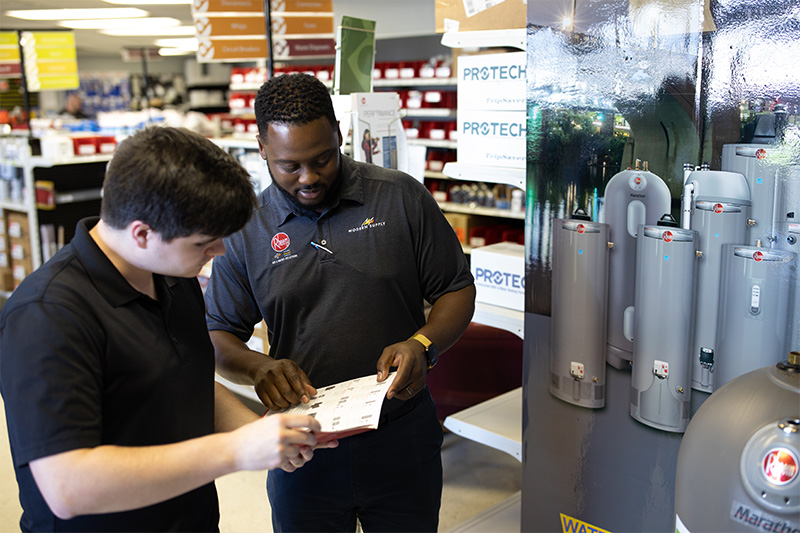 Showing our customers info about our Chattanooga water heaters